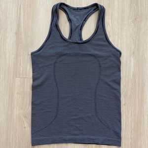 lululemon Swiftly Striped Racerback Tank | size 6